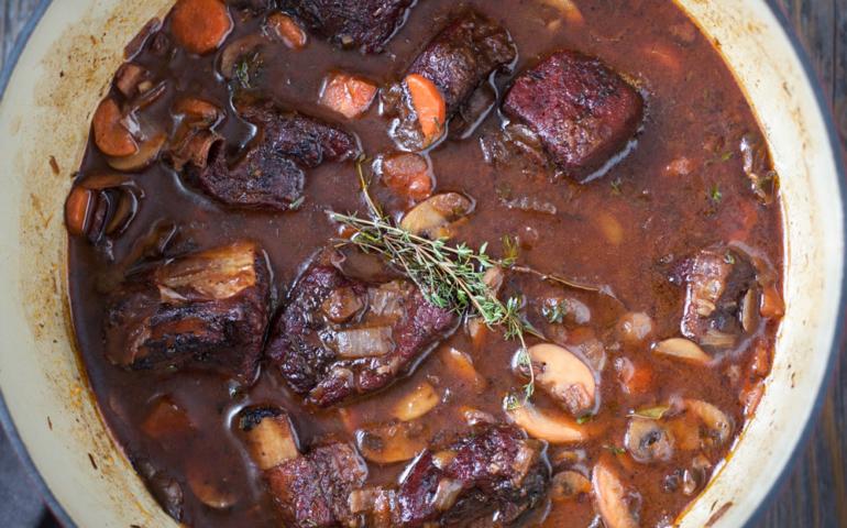 Smoked Beef Short Rib Stew