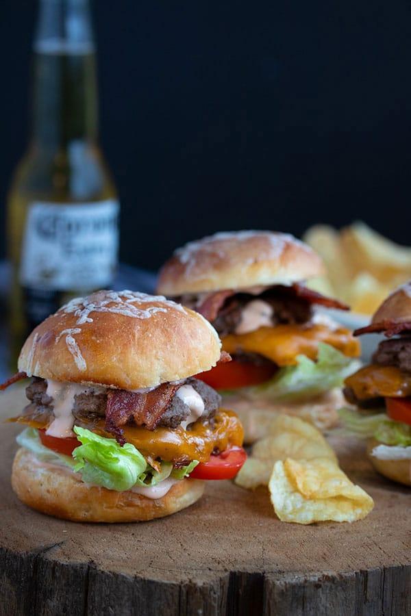 Smash Burger Sliders ~ Superbowl Party Food!