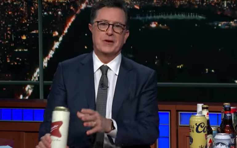 Watch: Stephen Colbert Demolishes Government Shutdown With Beer