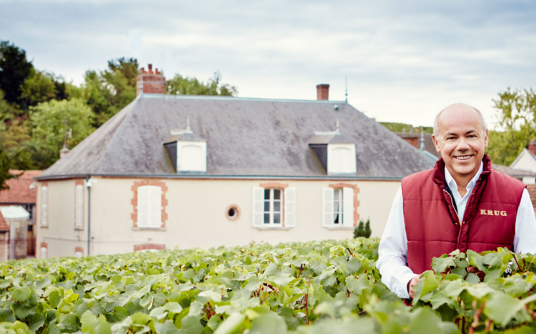 Krug Cellar Master Eric Lebel Doesn't Have Any Bad Wine in His Cellar ('Sorry!')