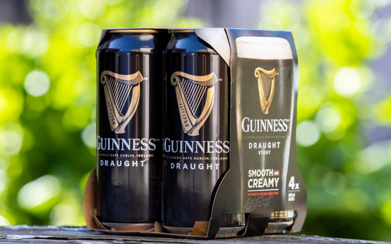 Guinness Becomes Latest Beer Brand To Ditch Plastic Packaging