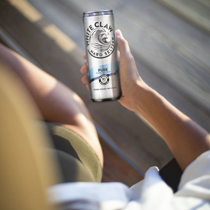This New Boozy Seltzer Is Basically a Vodka Soda in a Can