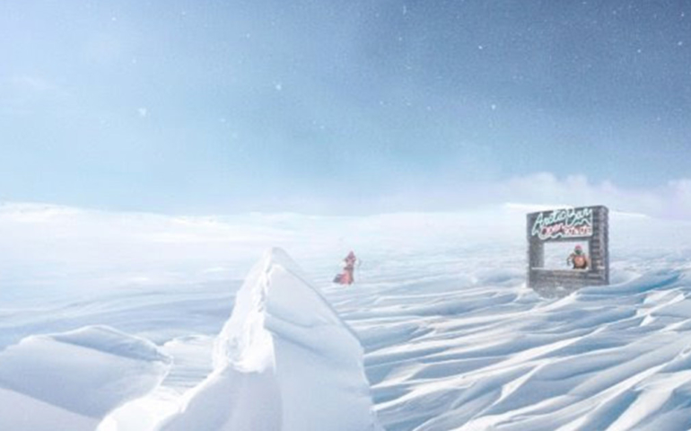 Win Free Gin for Life By Visiting This Pop-Up Bar…In the North Pole