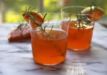 Bourbon Rosemary Punch