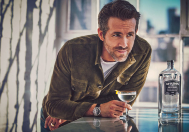 Ryan Reynolds Donates 30% of Aviation Gin's Uk Profits to the Drinks Trust