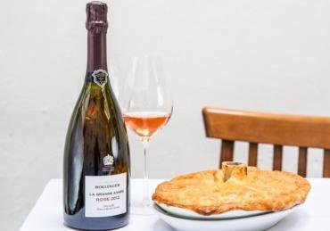 Champagne Bollinger launches La Grande Année Rosé 2012 In the UK