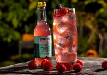 Brighton Gin releases RTD Raspberry Crush